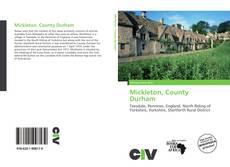 Capa do livro de Mickleton, County Durham