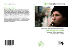 Sociology of Sport kitap kapağı
