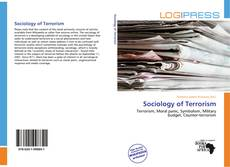 Bookcover of Sociology of Terrorism
