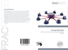 Bookcover of Survey Research