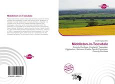 Bookcover of Middleton-in-Teesdale