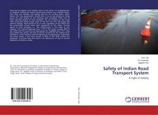 Bookcover of Safety of Indian Road Transport System