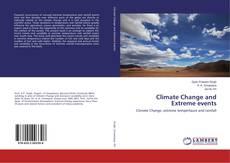 Capa do livro de Climate Change and Extreme events