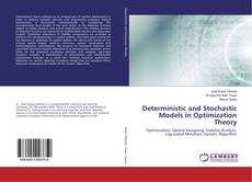 Bookcover of Deterministic and Stochastic Models in Optimization Theory