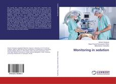 Couverture de Monitoring in sedation