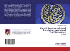 Quranic Commentaries and Translations in Arwi and Tamil Languages: kitap kapağı