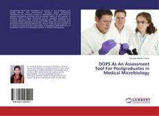 Buchcover von DOPS As An Assessment Tool For Postgraduates in Medical Microbiology