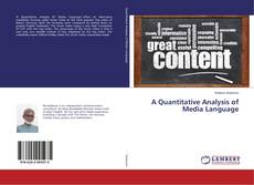 Buchcover von A Quantitative Analysis of Media Language