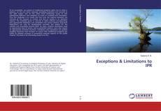 Обложка Exceptions & Limitations to IPR