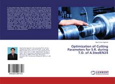 Capa do livro de Optimization of Cutting Parameters for S.R. during T.O. of A.SteelEN24