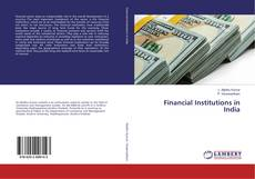 Buchcover von Financial Institutions in India