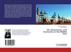 Bookcover of Oil, Governance, and Economics in the Middle East