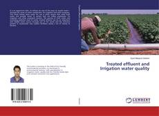 Copertina di Treated effluent and Irrigation water quality