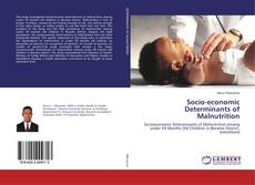 Bookcover of Socio-economic Determinants of Malnutrition