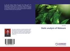 Bookcover of Static analysis of Malware