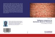 Buchcover von Religious response to domestic abuse in Tanzania