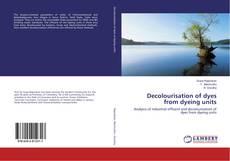 Decolourisation of dyes from dyeing units kitap kapağı