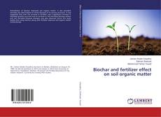 Bookcover of Biochar and fertilizer effect on soil organic matter