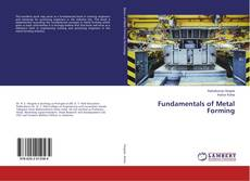 Bookcover of Fundamentals of Metal Forming