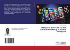 Portada del libro de Predictors of Use of Mobile Apps by University Students in Nigeria