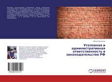 Уголовная и административная ответственность в законодательстве РФ的封面