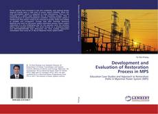 Bookcover of Development and Evaluation of Restoration Process in MPS