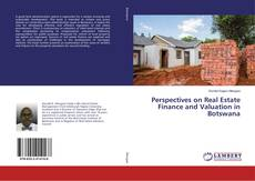 Bookcover of Perspectives on Real Estate Finance and Valuation in Botswana