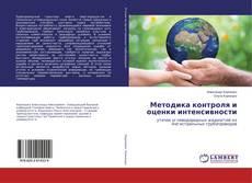 Обложка Методика контроля и оценки интенсивности