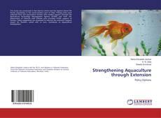 Обложка Strengthening Aquaculture through Extension