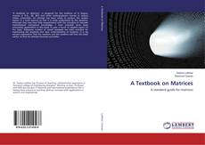 Buchcover von A Textbook on Matrices