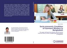 Bookcover of Socio-economic Condition of Garment Workers in Bangladesh