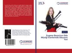 Eugene Bozza'nın Oda Müziği Eserlerinde Obuanın Yeri kitap kapağı