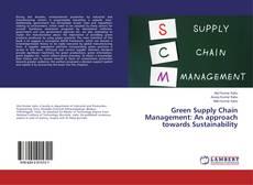 Capa do livro de Green Supply Chain Management: An approach towards Sustainability