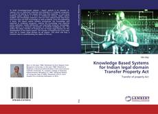 Knowledge Based Systems for Indian legal domain Transfer Property Act kitap kapağı
