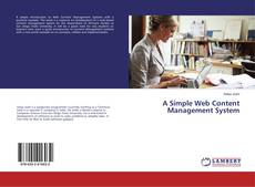Portada del libro de A Simple Web Content Management System