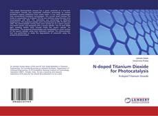 Buchcover von N-doped Titanium Dioxide for Photocatalysis