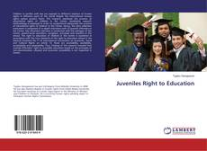Juveniles Right to Education kitap kapağı