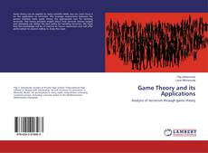 Bookcover of Game Theory and its Applications