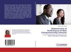 Bookcover of Determinants of Performance of New Entrepreneurship Ventures