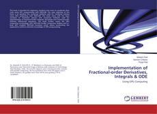 Capa do livro de Implementation of Fractional-order Derivatives, Integrals & ODE