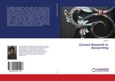 Bookcover of Current Research in Accounting