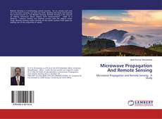 Buchcover von Microwave Propagation And Remote Sensing