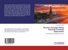 Portada del libro de Russia's Foreign Policy Towards Crimean Separatism