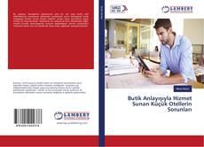 Bookcover of Butik Anlayışıyla Hizmet Sunan Küçük Otellerin Sorunları