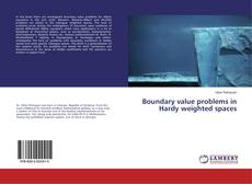 Capa do livro de Boundary value problems in Hardy weighted spaces