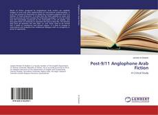 Capa do livro de Post-9/11 Anglophone Arab Fiction
