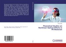 Portada del libro de Theoretical Studies on Nonlinear Optical Effects in PR Materials