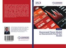 Bookcover of Davranışsal Finans Modeli ve Ekonometrik Panel Veri Analizi
