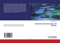 Portada del libro de Genomic Data Security and Privacy