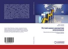 Устойчивое развитие экономики kitap kapağı